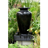 Water Feature Carolina Medium - Black