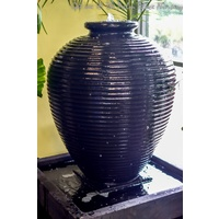 Water Feature Cyprus Fountain - Black